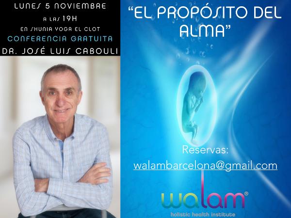 Conferencia José Luís Cabouli Clot 5-11-2018.
