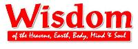 Wisdom Magazine. Logo.