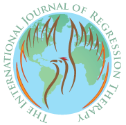 The International Journal of Regression Therapy (Revista Internacional de Terapia de Regresión). Logotipo.