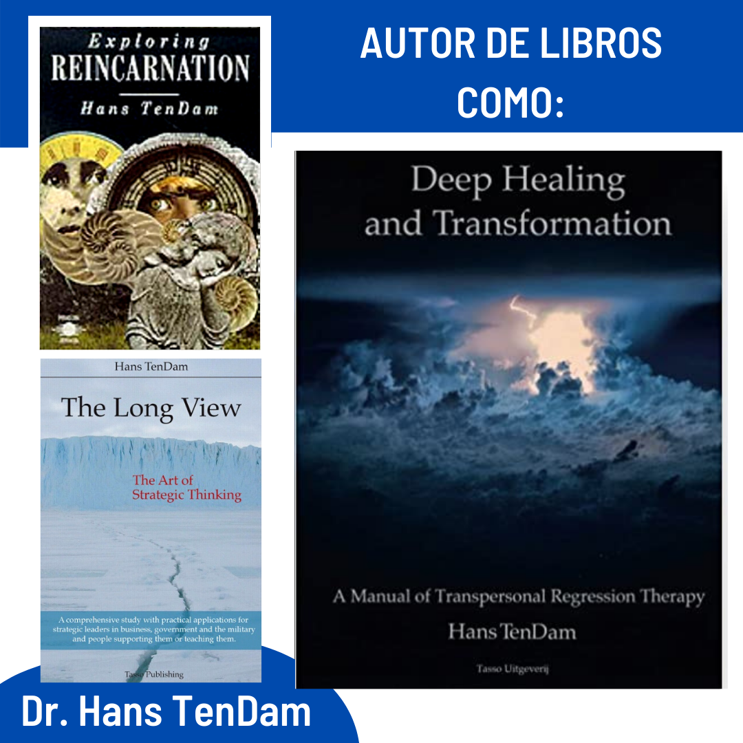 """Doctor Ham TenDam, author of books such as: """"Deep Healing and Transformation"""", """"Exploring Reincarnation"""", """"The Long View""""."""
