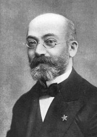 Doctor Ludwik Lejzer Zamenhof.