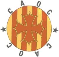 Cercle d'Agermanament Occitano-Català (C.A.O.C.)-Cercle d'Afrairament Occitanocatalan (C.A.O.C.) [Catalan Occitan Twinning Circle (C.A.O.C.)]. Logo.